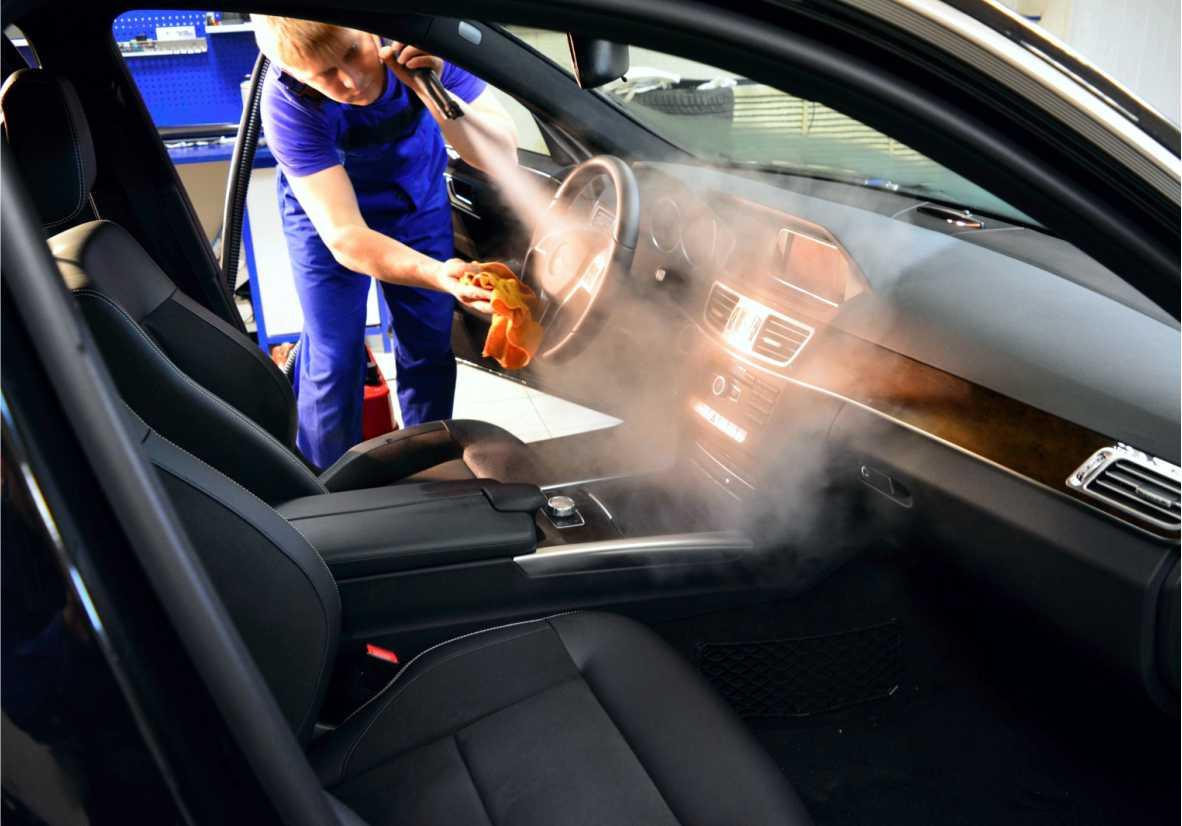 сколько занимает химчистка салона автомобиля